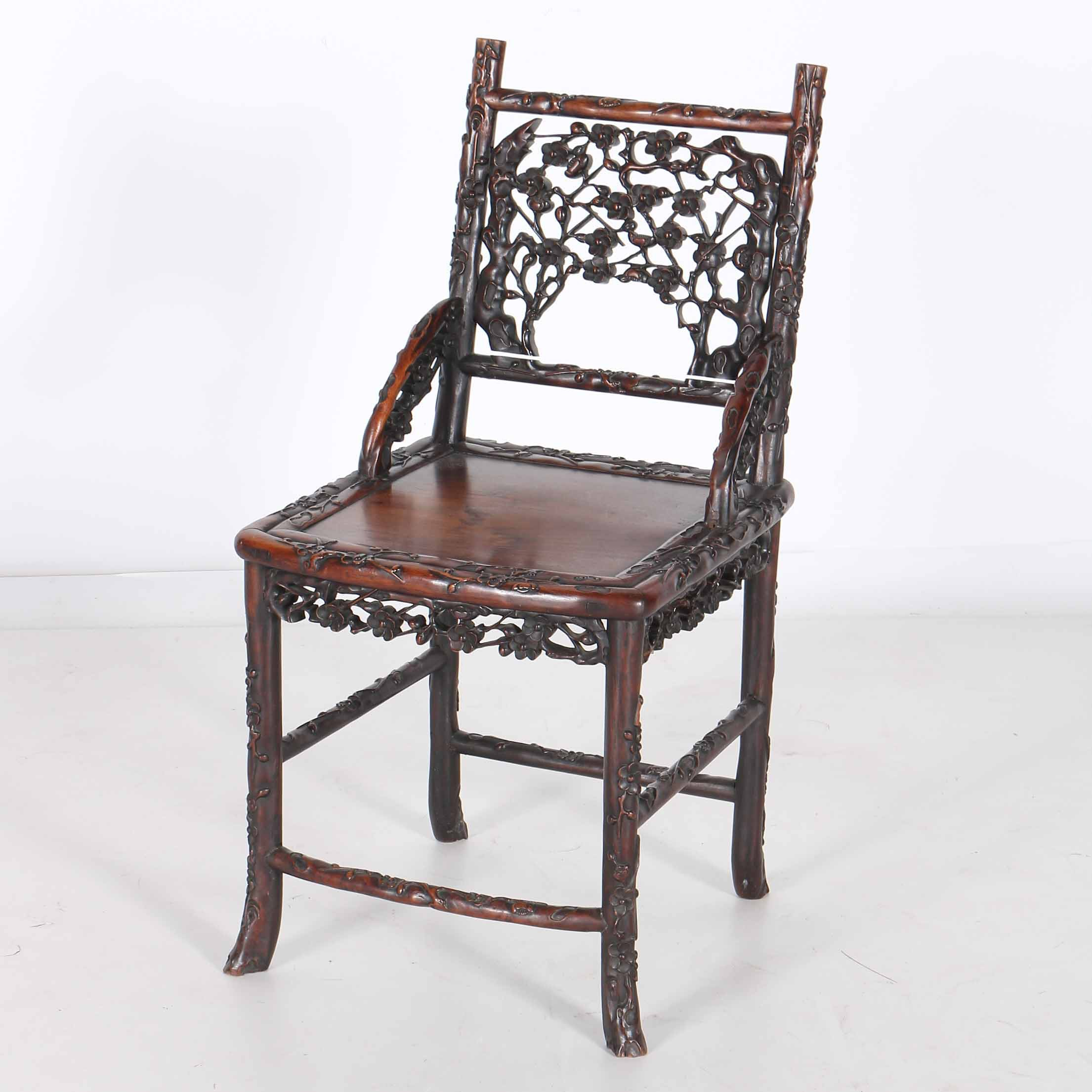 Carved Rosewood Chair