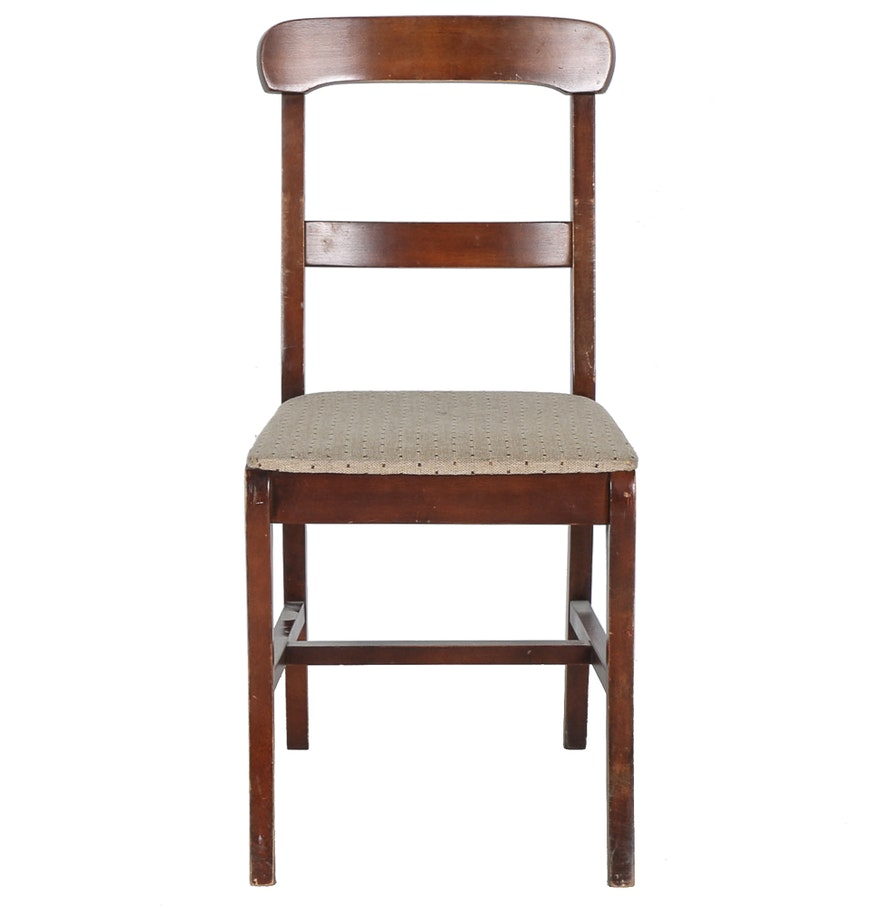 Vintage Side Chair By Carolina Furniture Works Inc Ebth