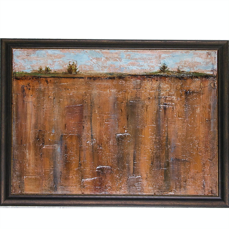 Framed Giclee on Canvas