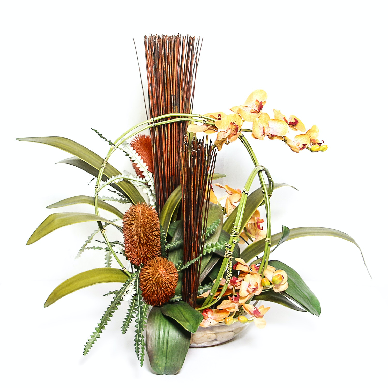 Decorative Silk Plant