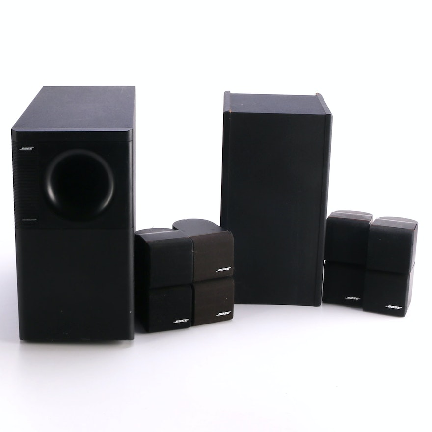 bose speaker systems ebth. Black Bedroom Furniture Sets. Home Design Ideas