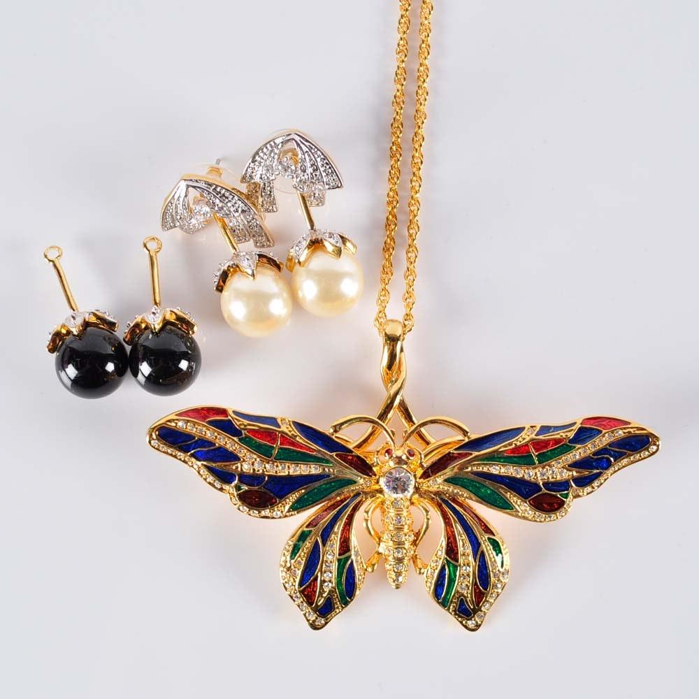 Camrose and Kross Replica Jackie Kennedy Jewelry