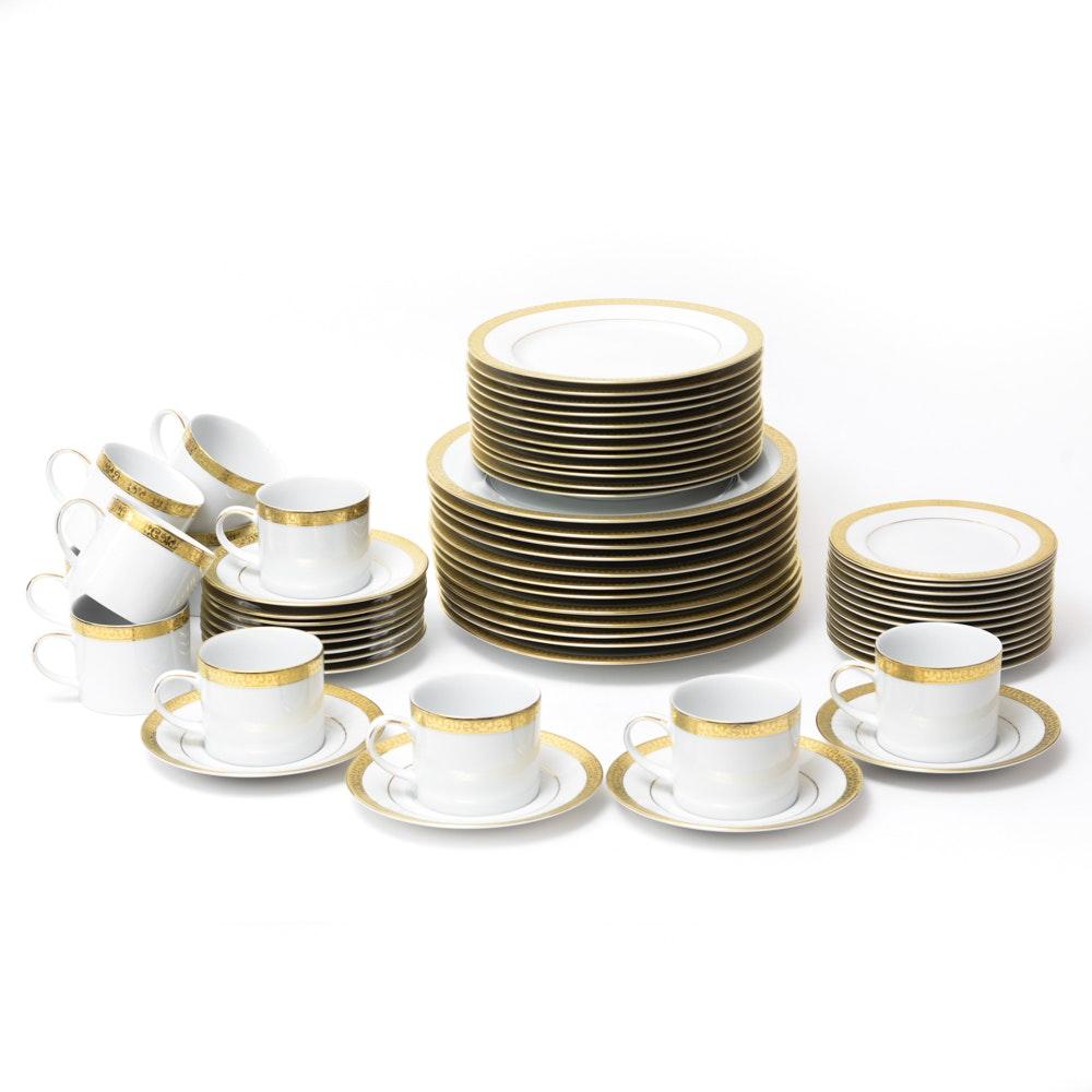 """Royal Gallery """"Gold Buffet"""" China Set"""