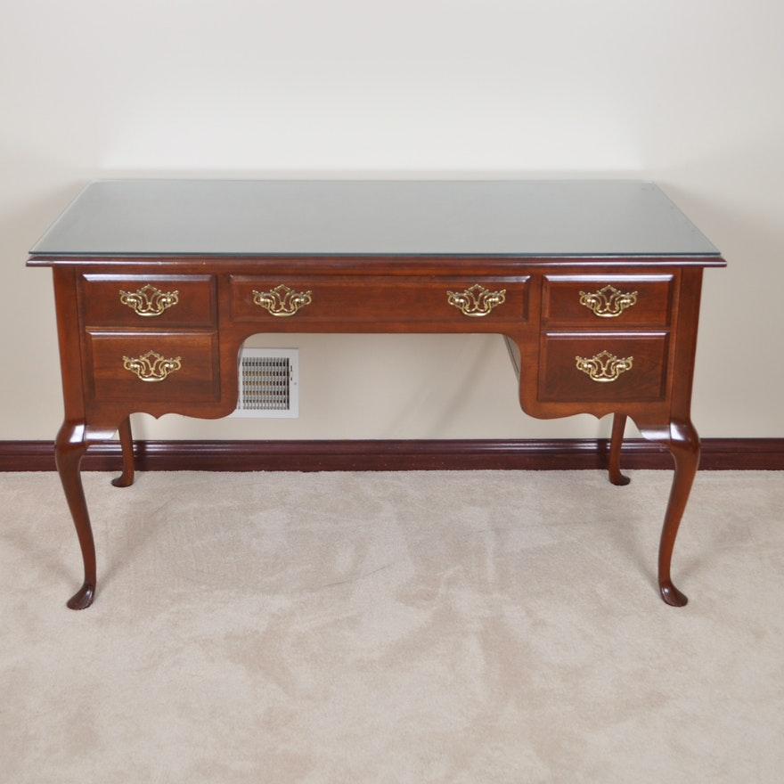 Queen Anne Style Writing Desk By Bett Furniture