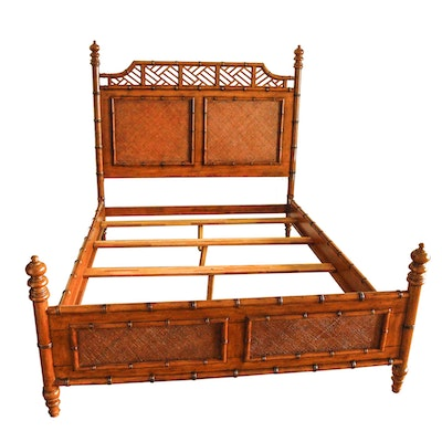 Tommy Bahama Furniture 'Island Estate West Indies' Queen Size Bed