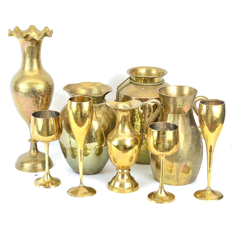 Assorted Brass Decor