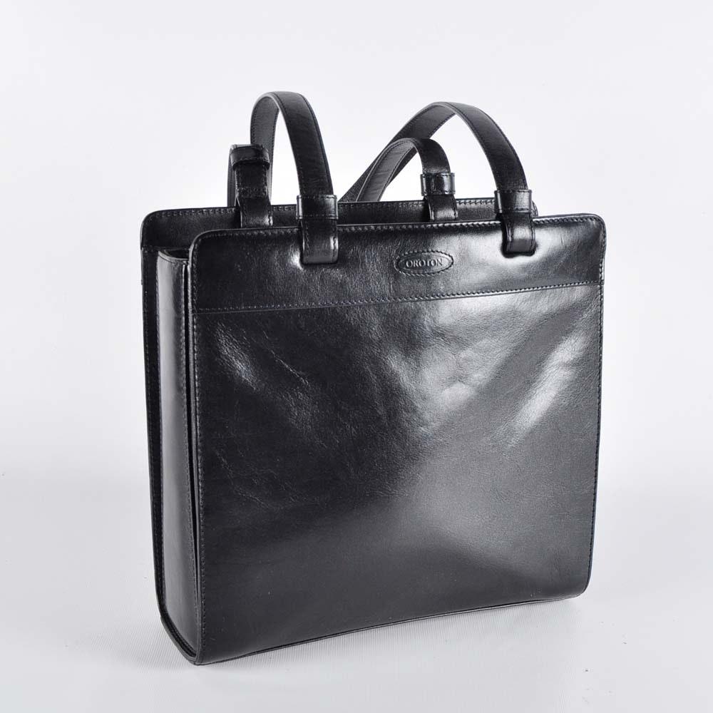 Oroton Leather Shoulder Bag