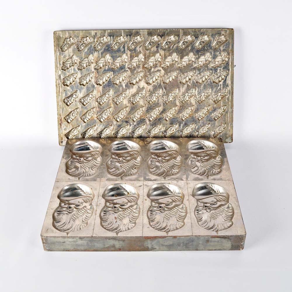 Vintage Chocolate Molds