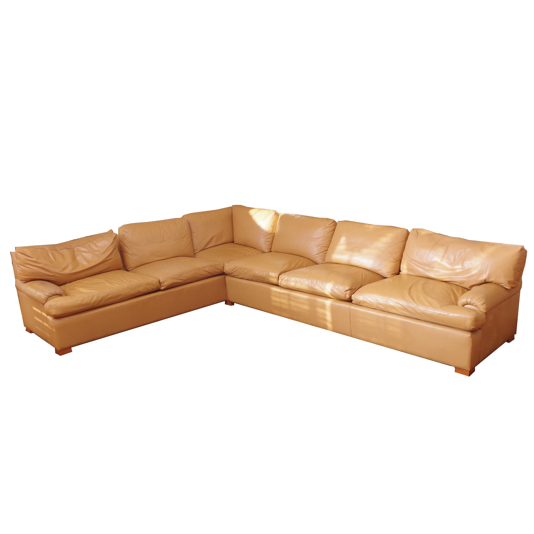 Palliser Two Piece Leather Sectional Sofa