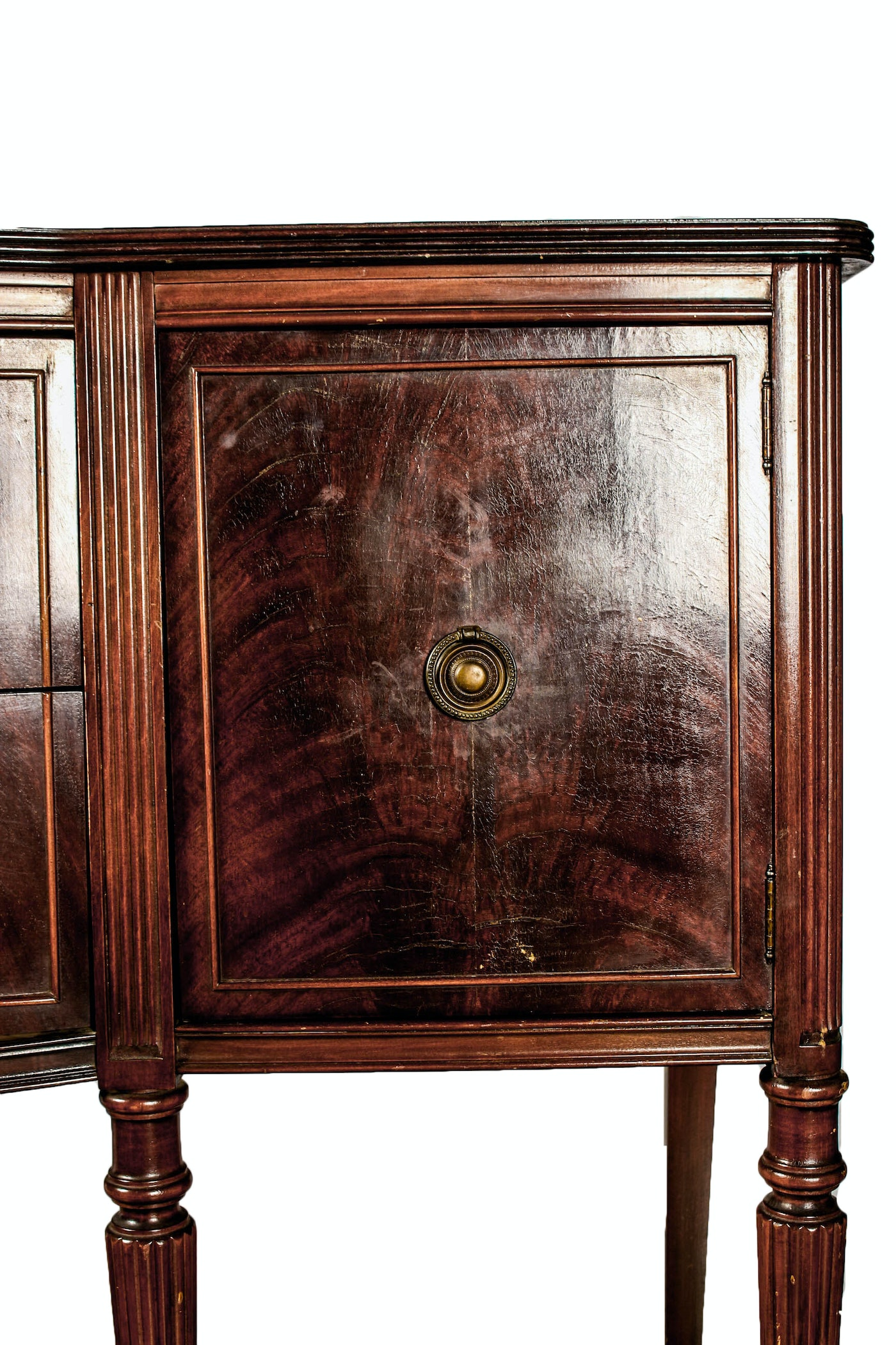 vintage federal style mahogany sideboard ebth. Black Bedroom Furniture Sets. Home Design Ideas