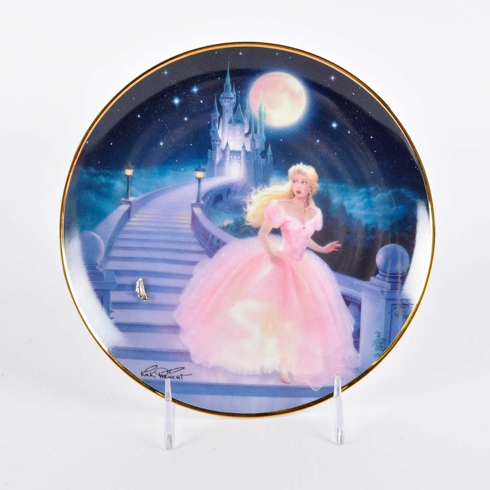 "Limited Edition Franklin Mint ""Magic of Cinderella"" Plate"