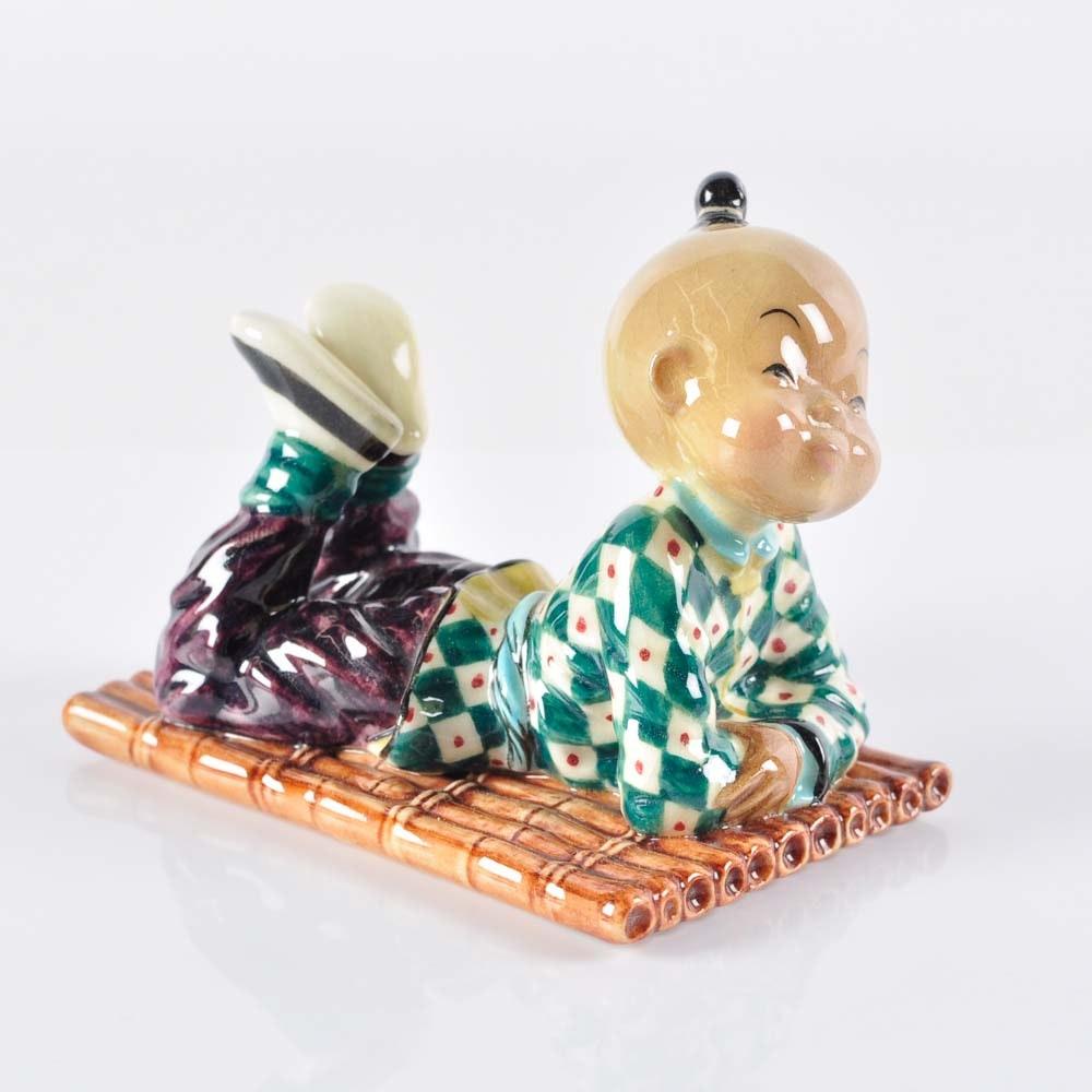 Gort Chinese Inspired Bone China Figurine