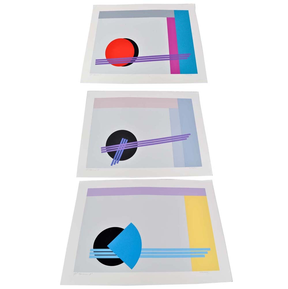"Artist Proof ""Transition"" Series Serigraphs by Stark"