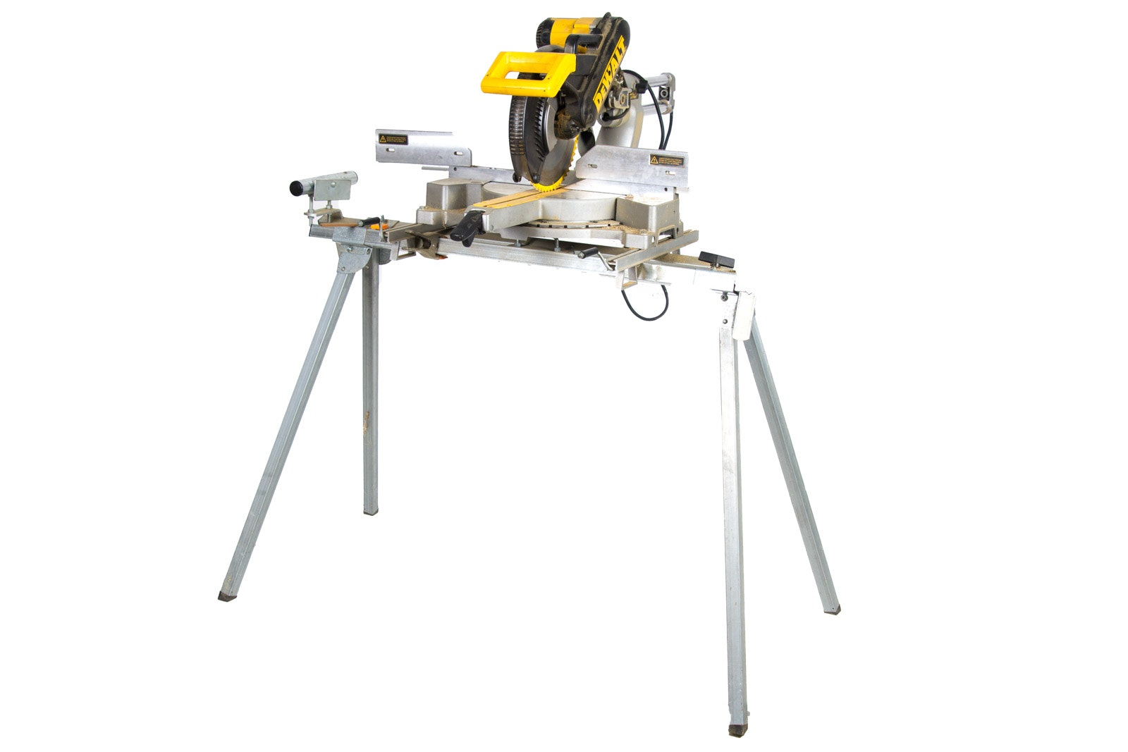 DeWalt DW708 12 Inch Sliding Compound Miter Saw with Stable Mate Plus 100 Folding Work Station