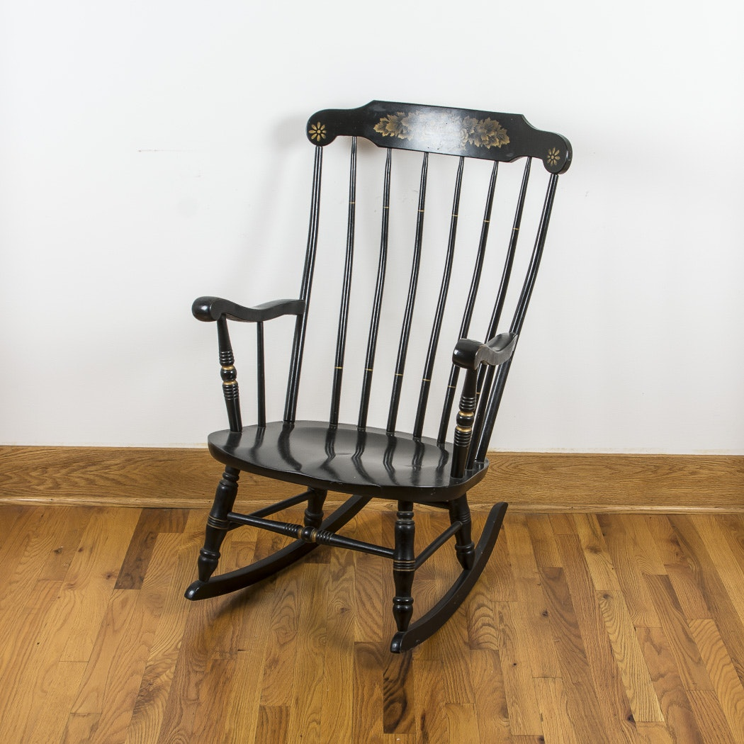 S. Bent & Brothers Windsor Rocking Chair