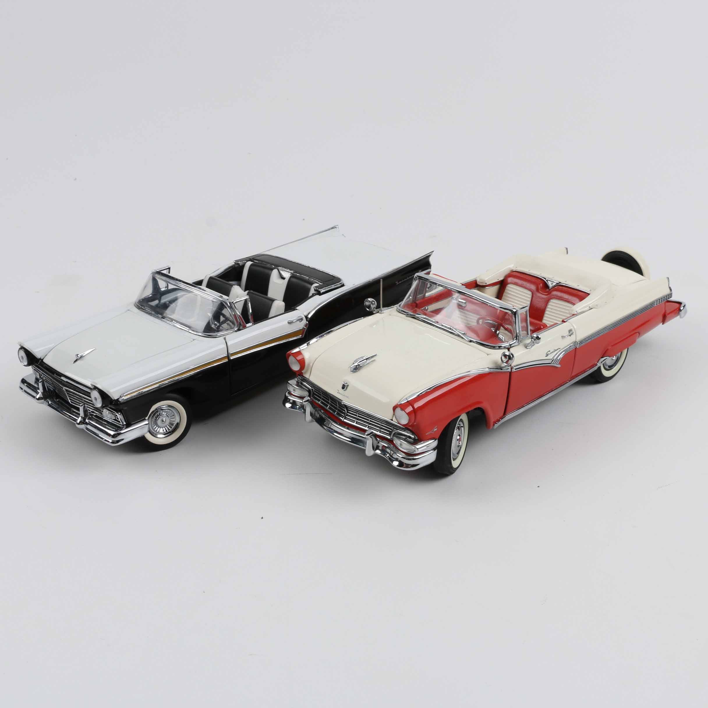 1950s Ford 1:24 Scale Die-Cast Cars