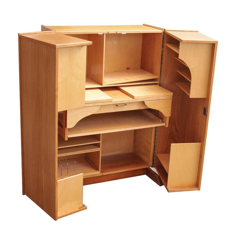 Danish Hardwood Hideaway Office