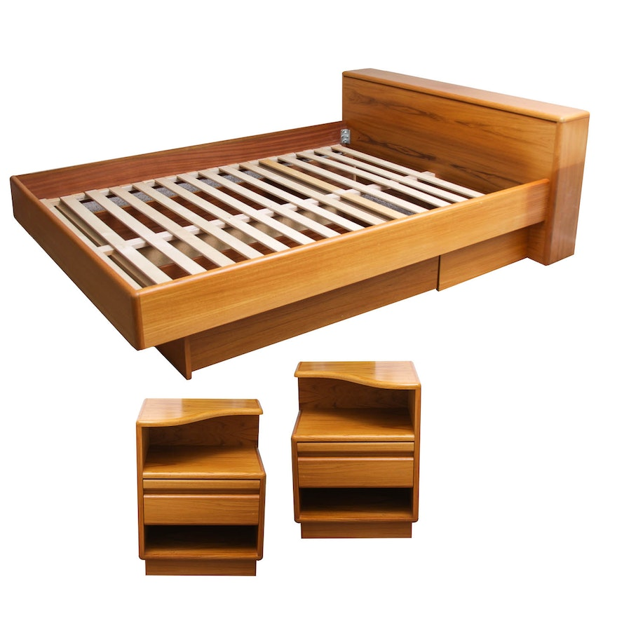 Danish Teak Bedroom Set Ebth
