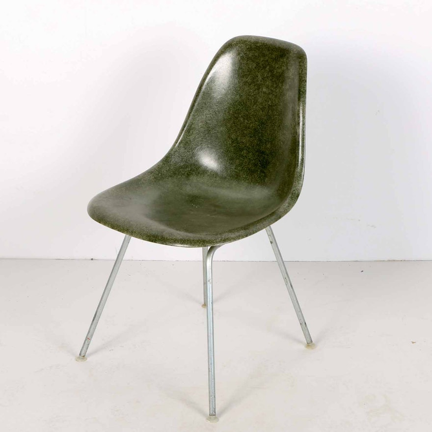 Mid Century Modern Herman Miller Eames Shell Chair Ebth