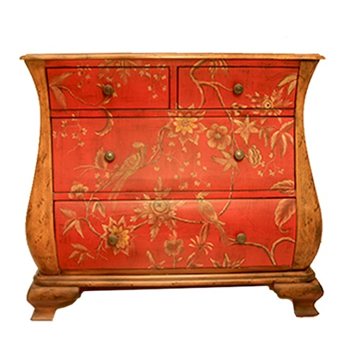 French Style Painted Chest of Drawers