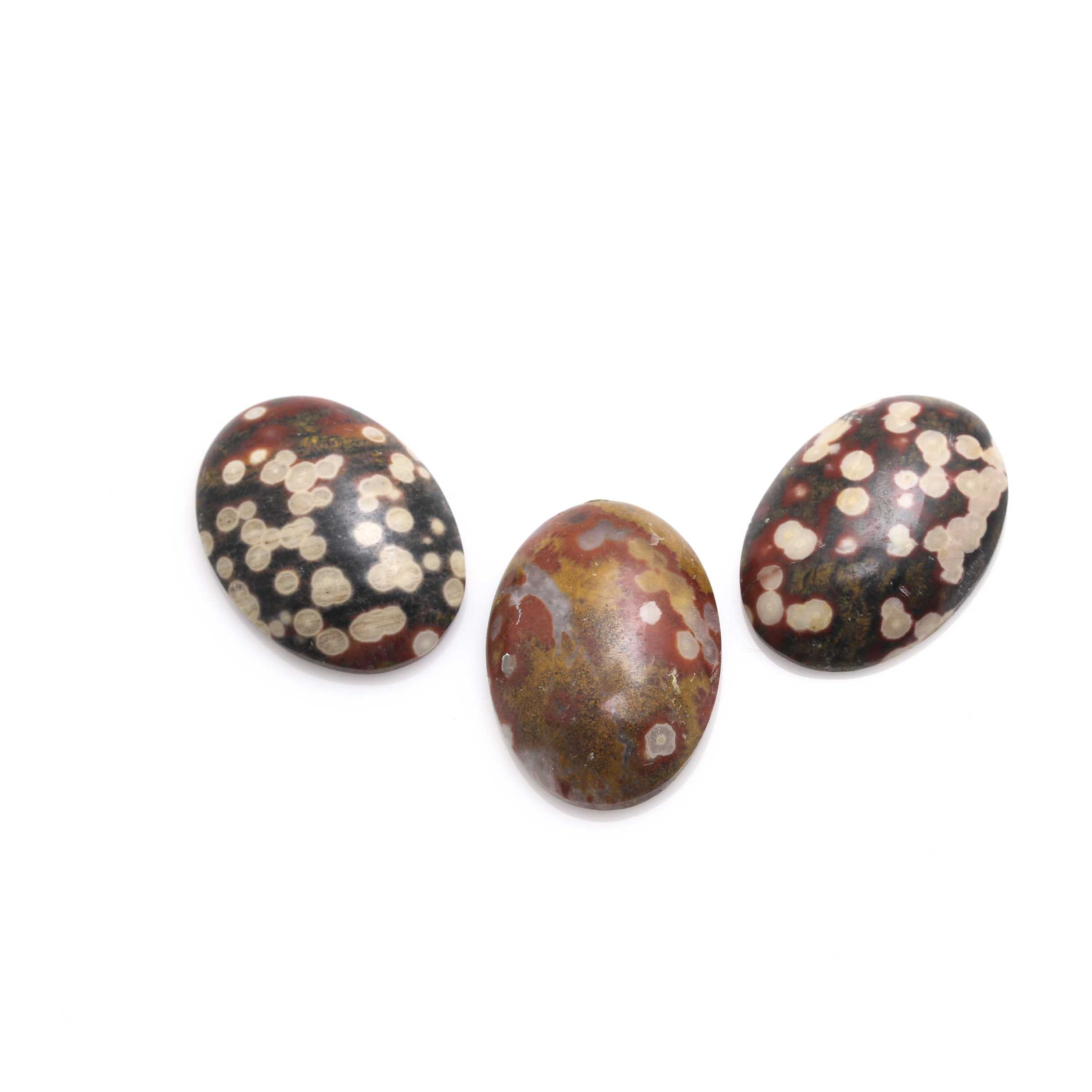 Loose Oval Jasper Gemstones