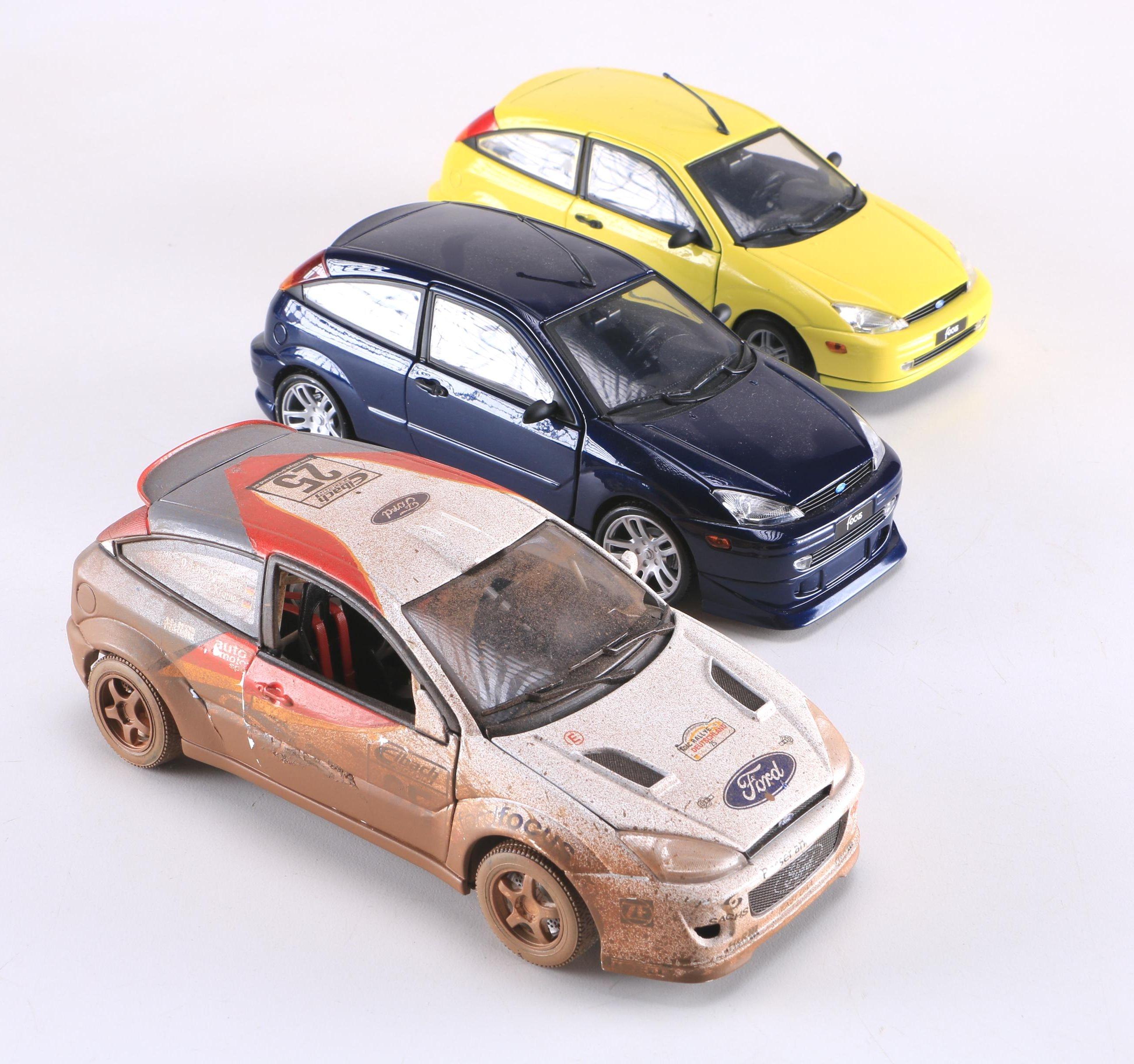 Ford Focus Die-Cast Cars