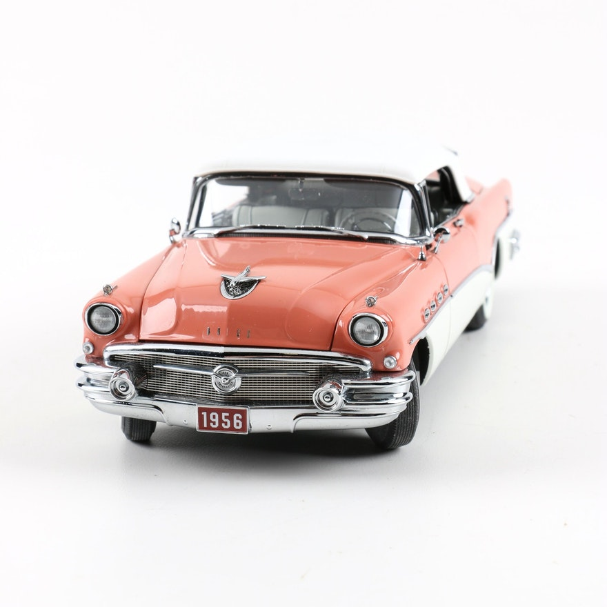 1954 Buick Roadmaster For Sale 1865222: 1956 Buick Roadmaster Convertible By The Danbury Mint : EBTH