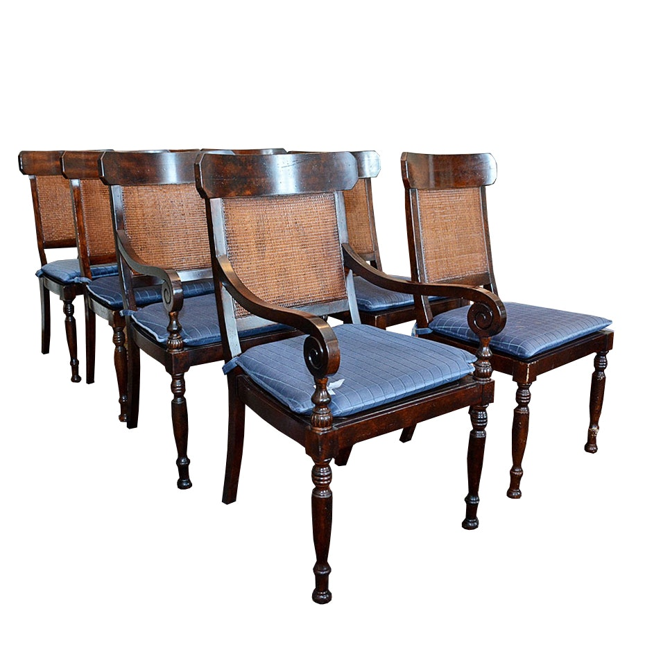 Regency style dining chairs by baker furniture ebth