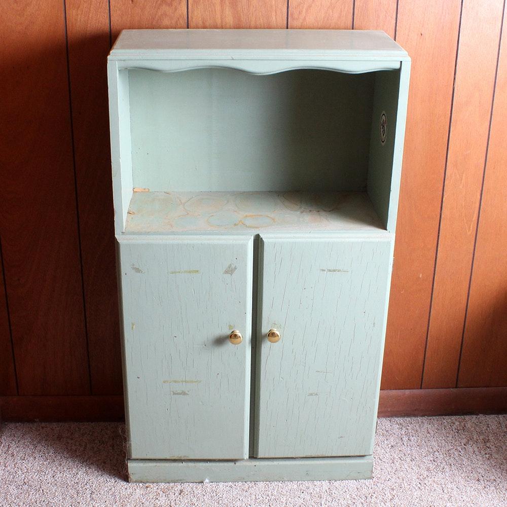 Vintage Diminutive Painted Cupboard