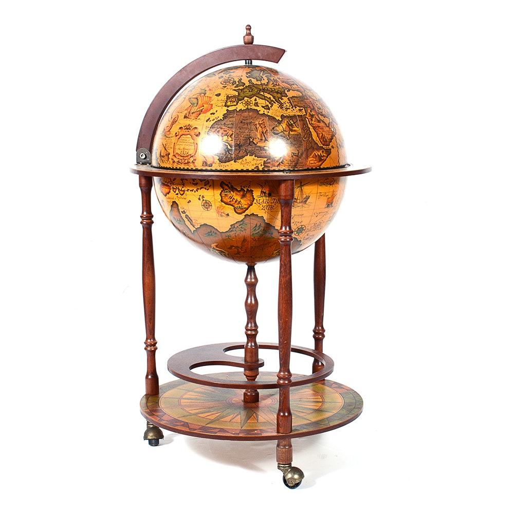 World Globe Hidden Bar