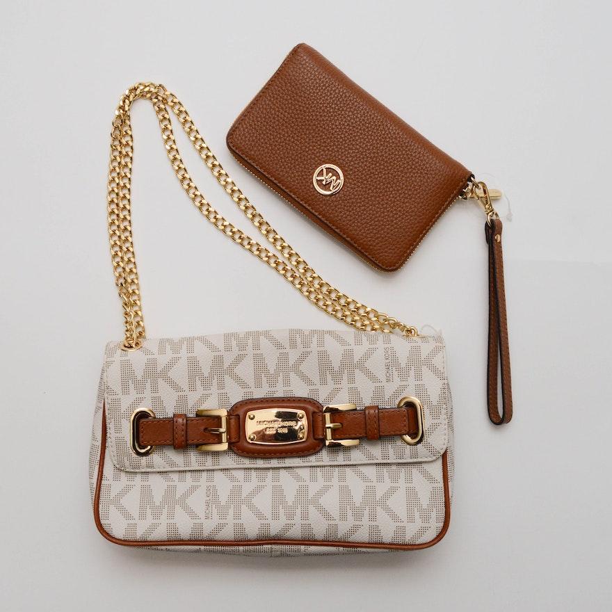 7df280a1d51d61 Michael Kors Hamilton Shoulder Bag and Wallet : EBTH