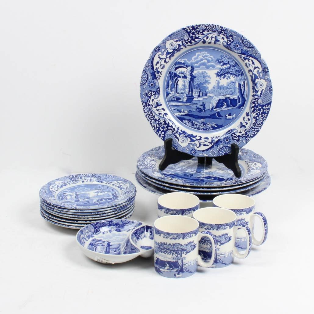 Spode  Blue Italian  China ... & Spode
