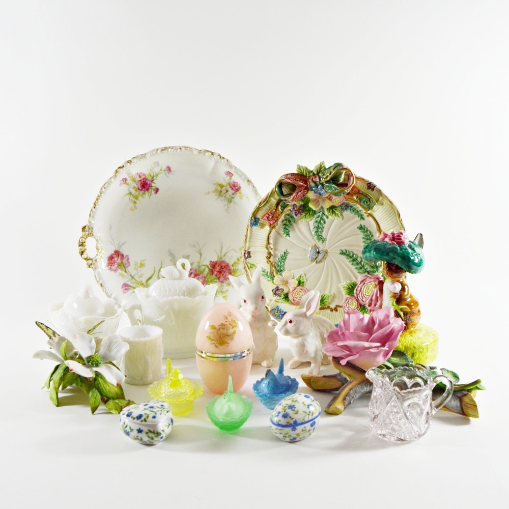Generous Assortment of Easter and Spring Decor