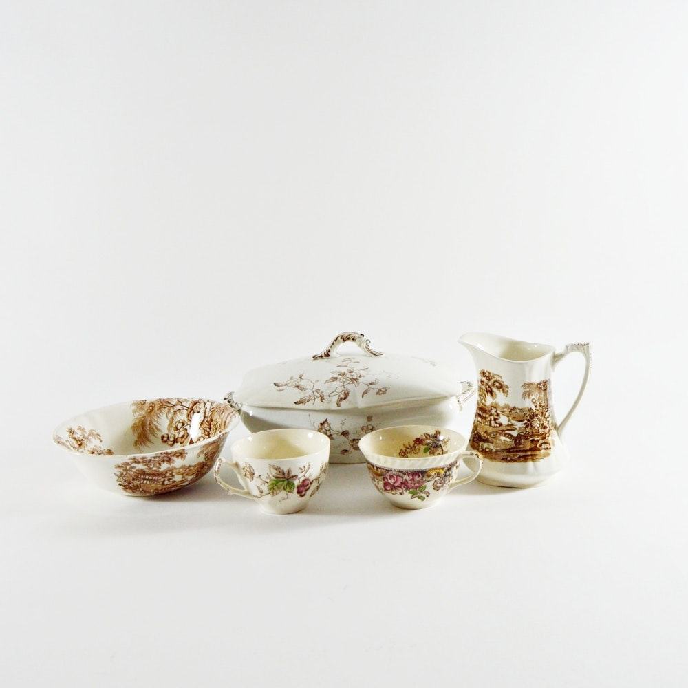 Selection of Fine English Tableware