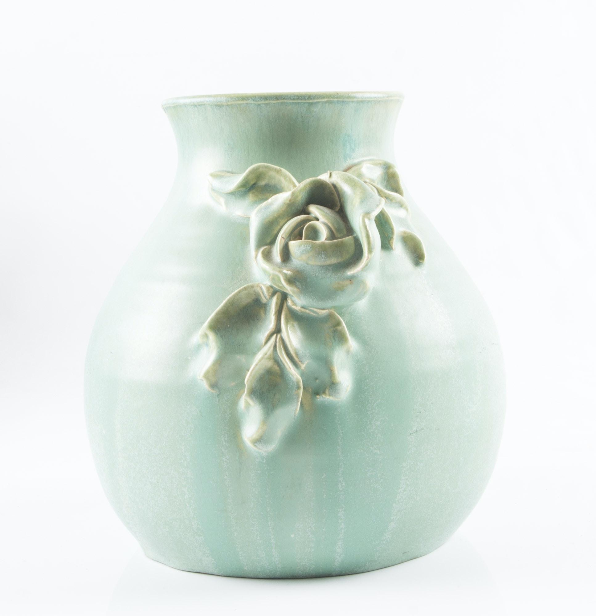 Vintage Fulper Pottery Vase