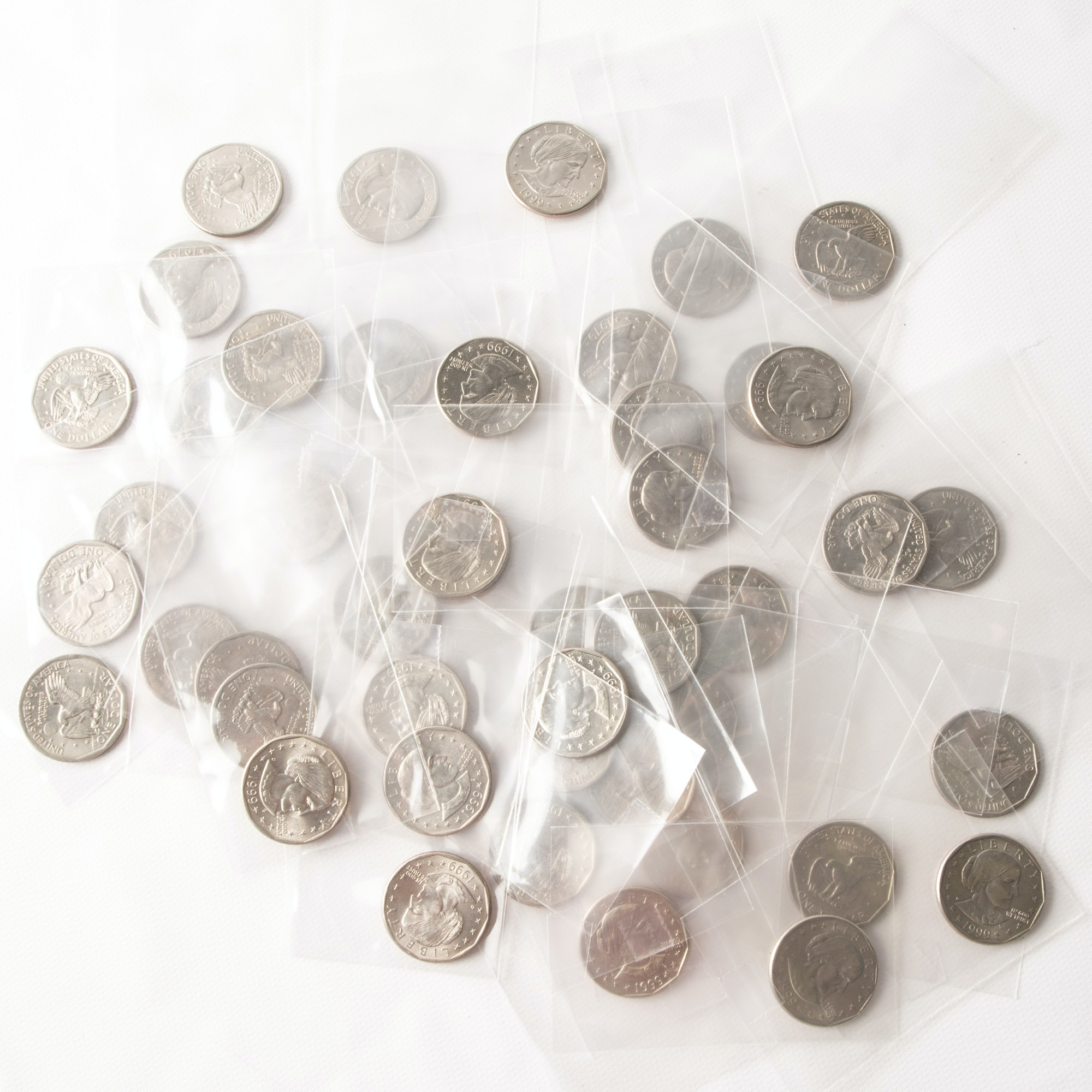 Large Collection of Susan B. Anthony Coins