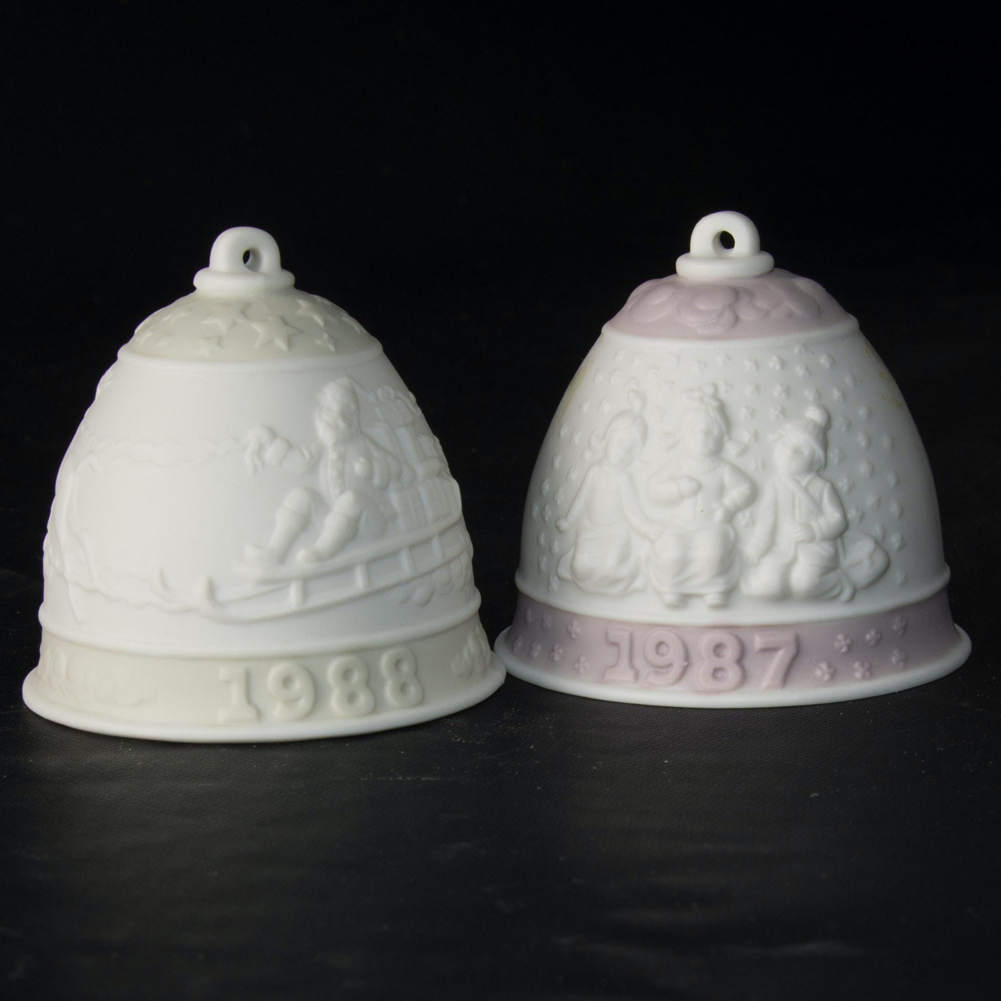 Lladro Christmas Bell Ornaments