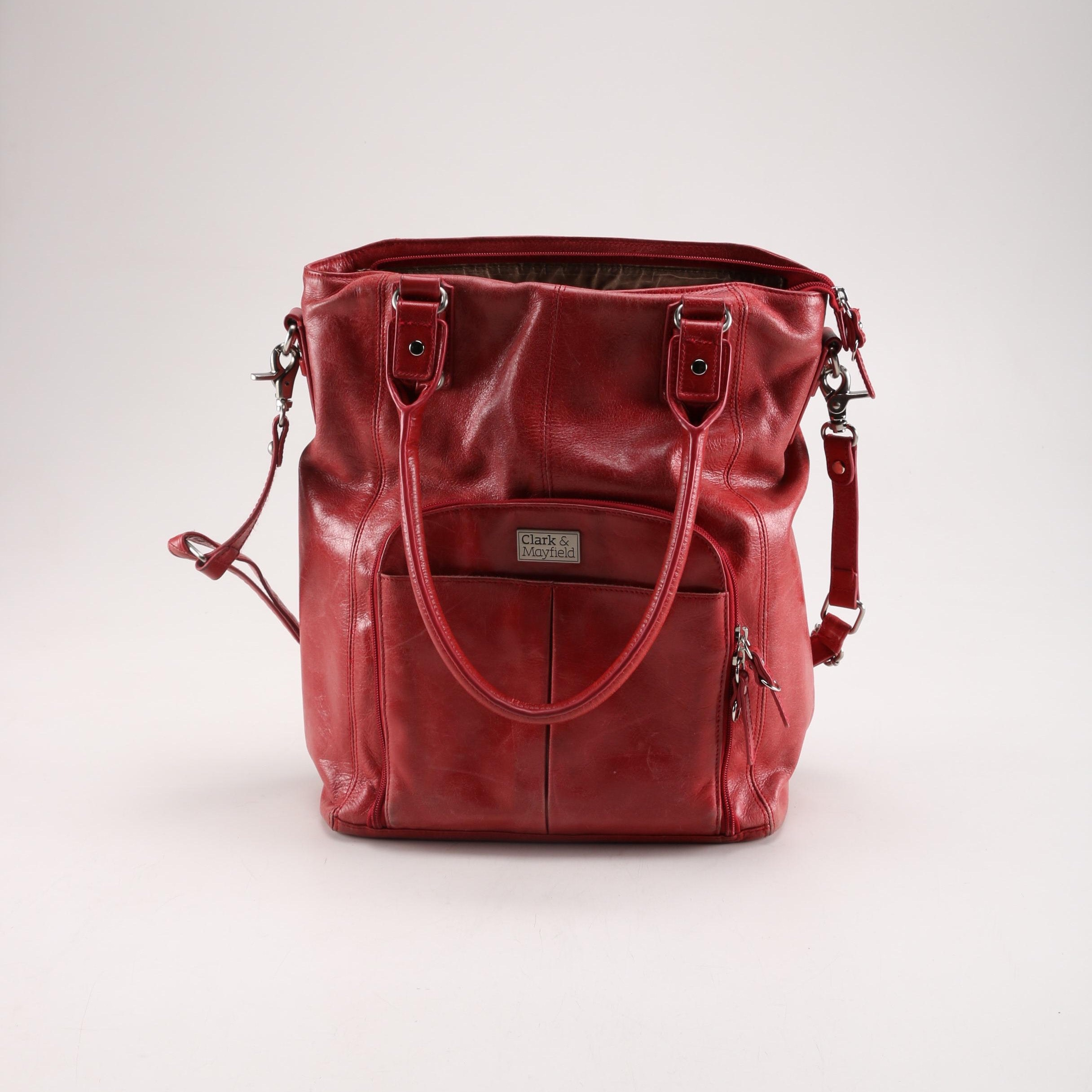 Clark & Mayfield Red Handbag