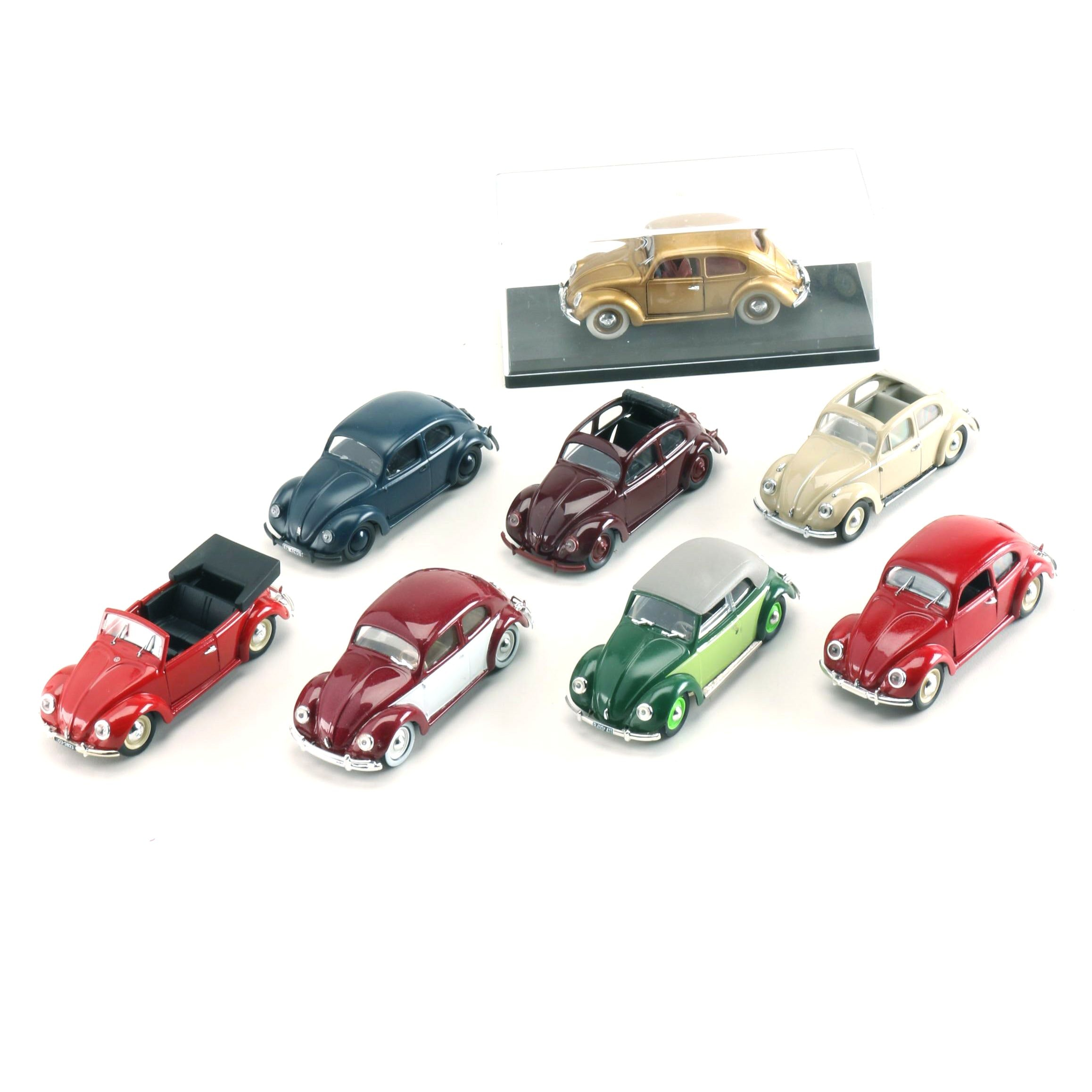 Collection of 1:43 Scale Volkswagen Models