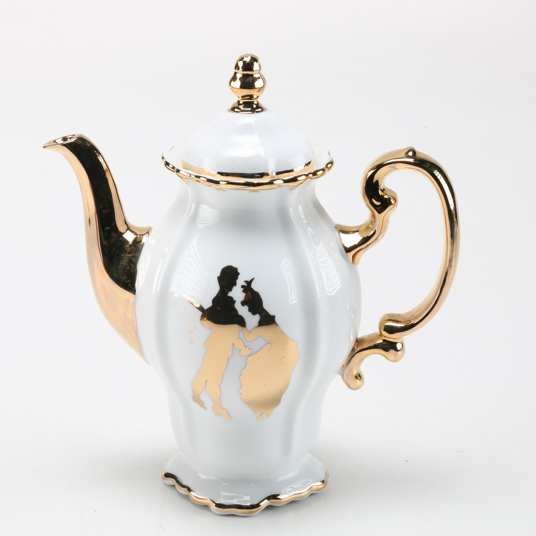 Tracy Stern Porcelain Teapot