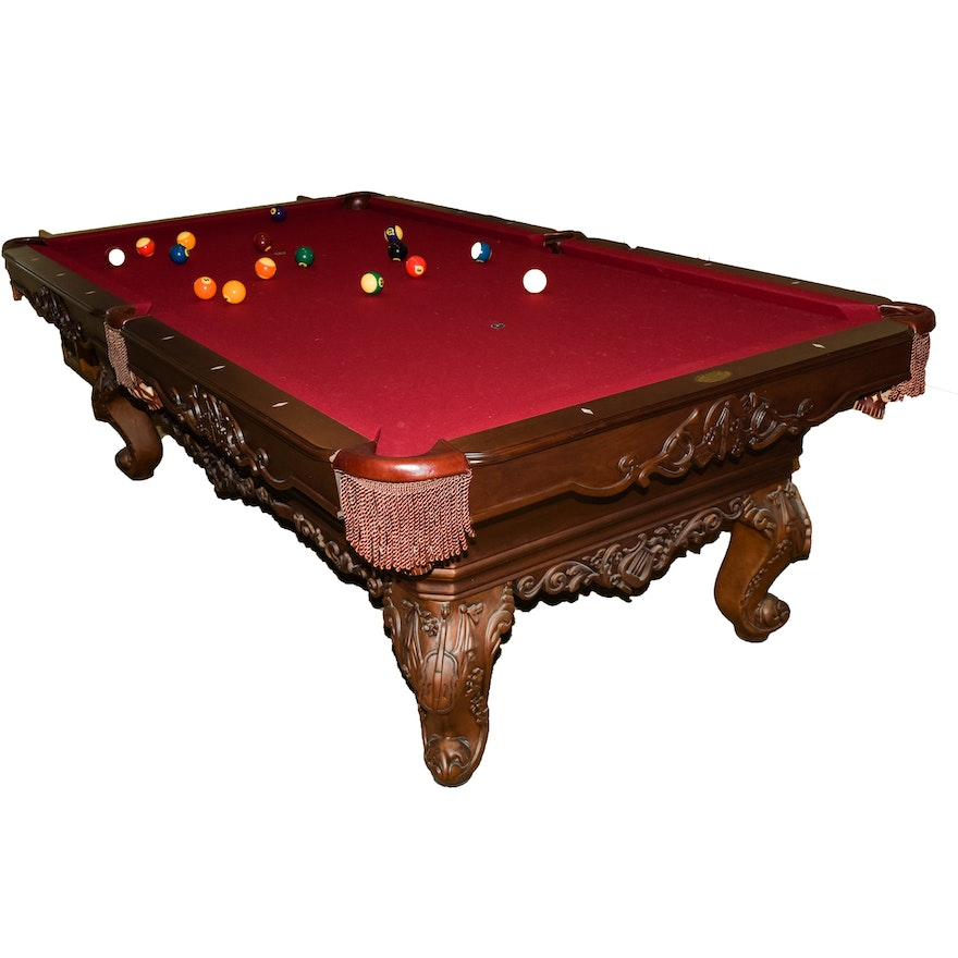 Olhausen Th Anniversary Pool Table EBTH - Olhausen 30th anniversary pool table price