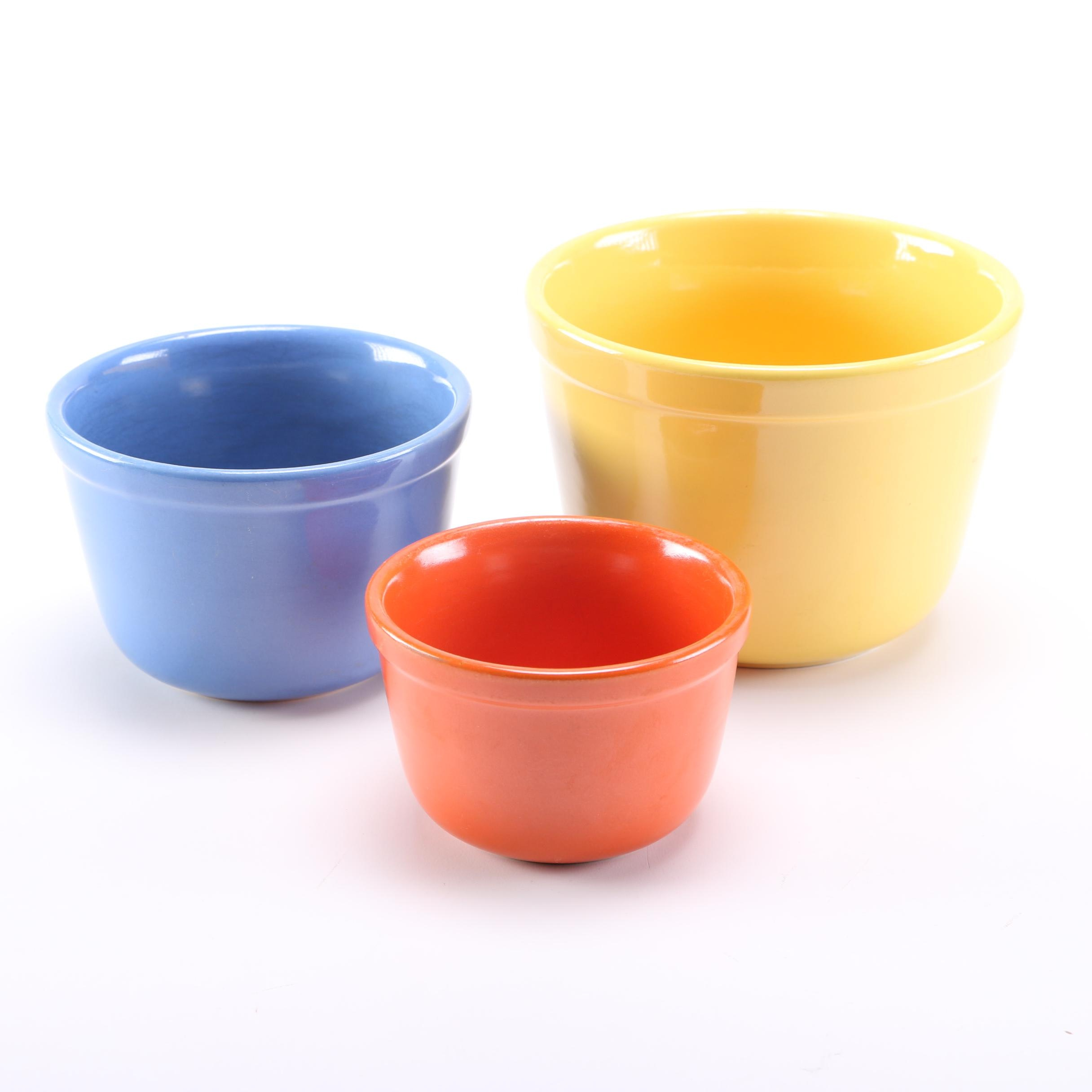 Circa 1950s Oxford Ware Nesting Bowls
