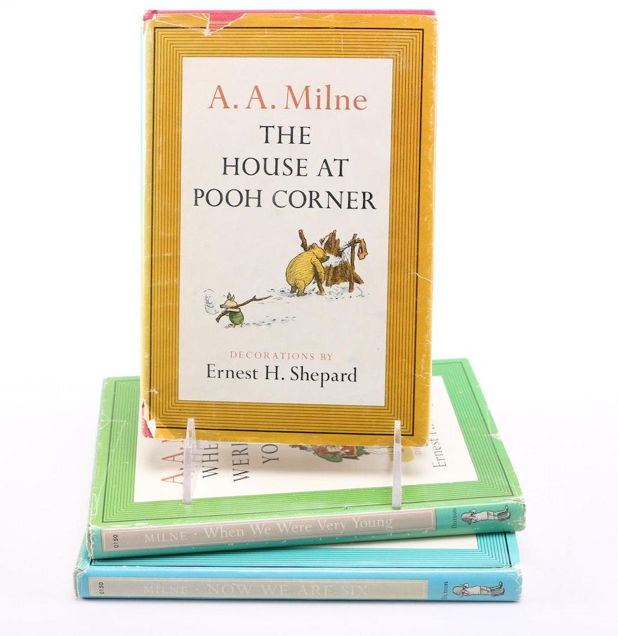 1961 A A Milne Winnie The Pooh Books Ebth
