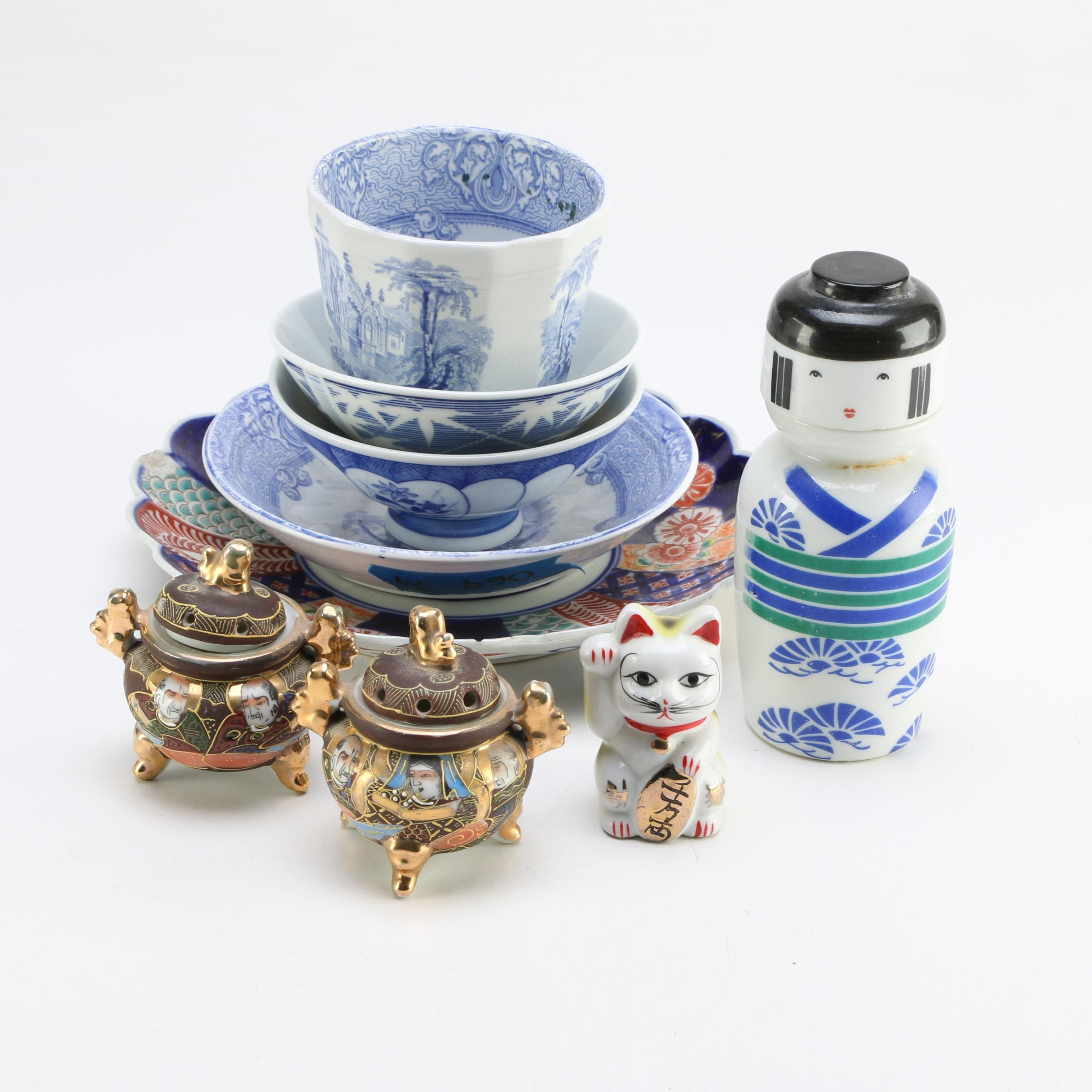 East Asian Tableware and Decorative Items