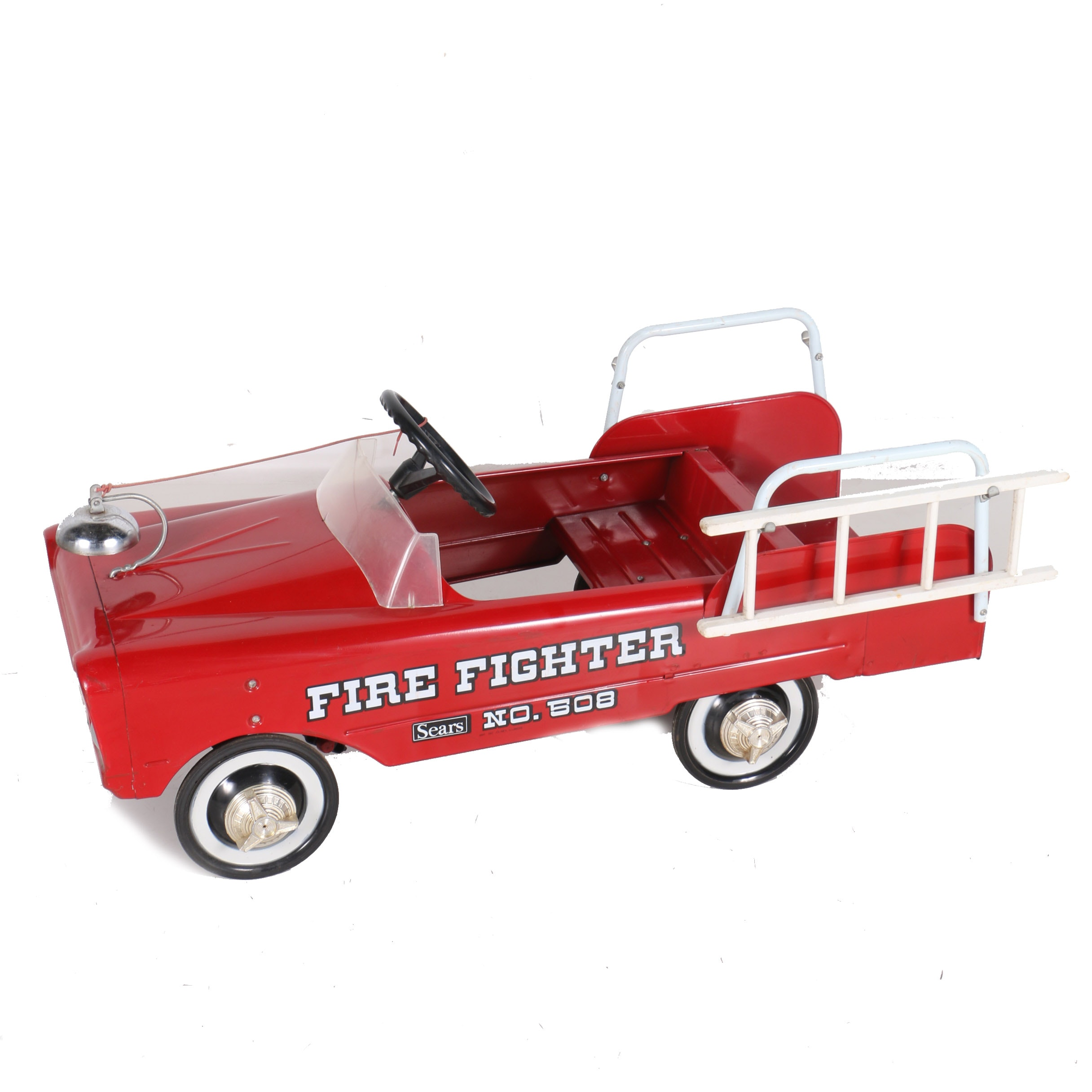 Vintage AMF Fire Fighter Pedal Car