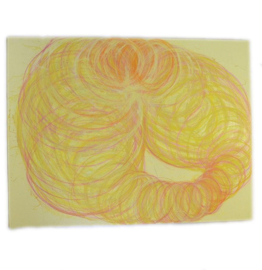 "Nicholas Barbieri Mixed Media Painting ""Cyclic Condition"""