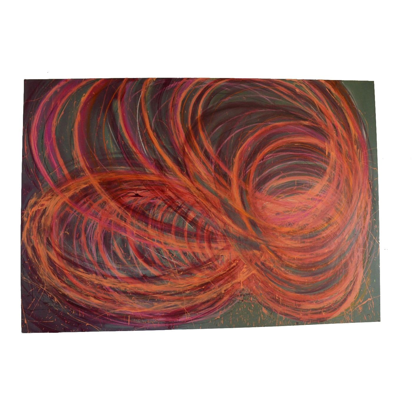 """Nicholas Barbieri Mixed Media Painting """"Hullaballuniverse 2"""""""