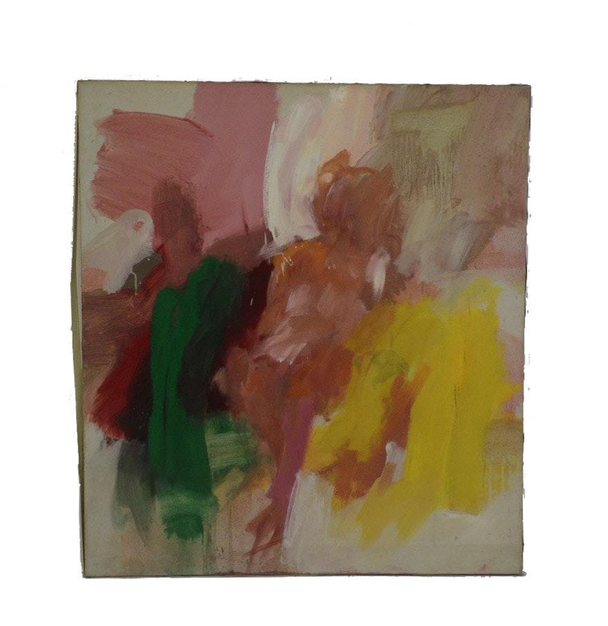 Nicholas Barbieri Abstract Impressionist Oil Painting