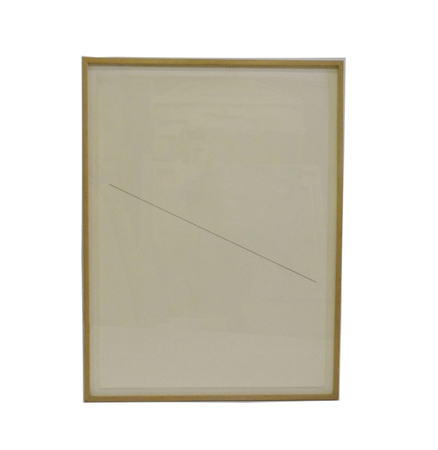Nicholas Barbieri Drawing of Diagonal Line