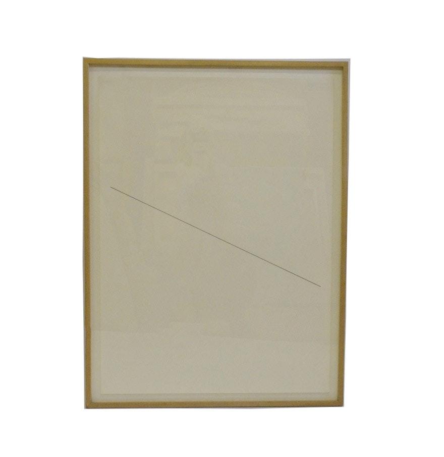 Nicholas Barbieri Drawing of Diagonal Line